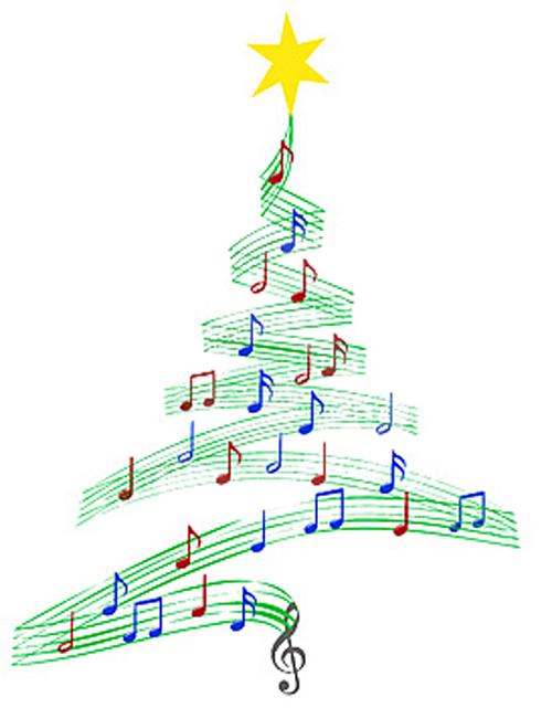 Musica Di Natale.Albero Di Natale Di Musica Del Canto Natalizio Thumb1242839
